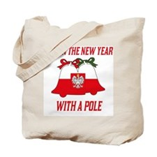 Polish New Years Tote Bag