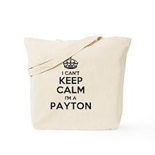 Funny Payton Tote Bag