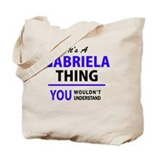Cute Gabriela Tote Bag