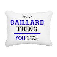 Cute Gaillard Rectangular Canvas Pillow
