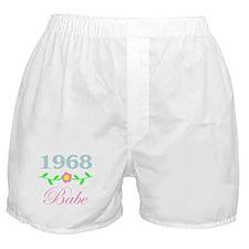 1968 Babe Boxer Shorts