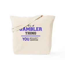 Cute Gambler Tote Bag