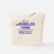 Funny Gamblers Tote Bag
