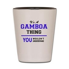 Cute Gamboa Shot Glass