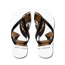 Assault Rifle Brotherhood Flip Flops