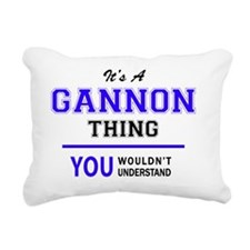 Cute Gannon Rectangular Canvas Pillow