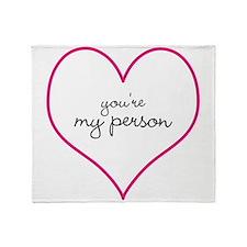 Grey's Anatomy Your My Person Mug Throw Blanket