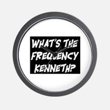 WHAT'S THE FREQUENCY? Wall Clock