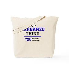 Cute Garbanzo Tote Bag