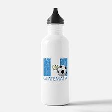Guatemala Futbol Water Bottle