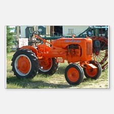 1937 Allis Chalmer Tractor Rectangle Decal