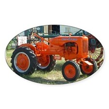 1937 Allis Chalmer Tractor Oval Decal