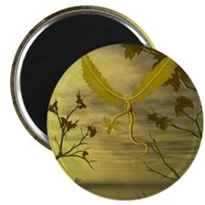 Flying Leaf Dragon Magnet