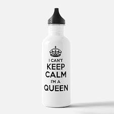 Cute Im the queen Water Bottle