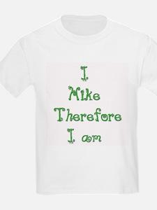 I Hike Therefore I Am 2 T-Shirt