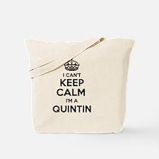 Cute Quintin Tote Bag