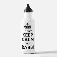 Cute Rabbi Water Bottle