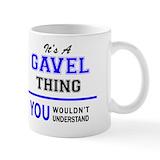 Gavel Coffee Mugs