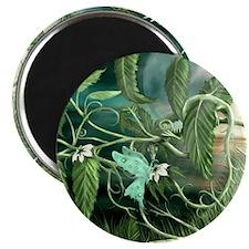 Earth Leaf Dragon Magnets