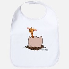 Funny Baby Giraffe Baby Bib