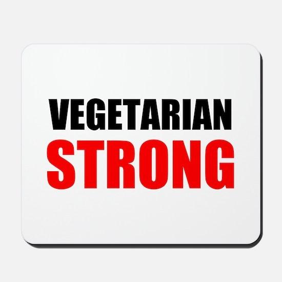 Vegetarian Strong Mousepad