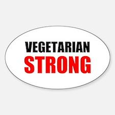 Vegetarian Strong Decal