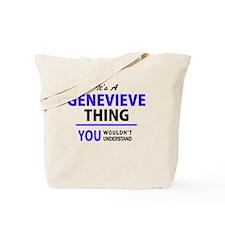 Cute Genevieve Tote Bag