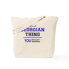 Cute Georgian Tote Bag