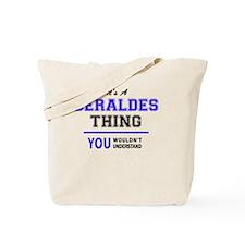 Funny Gerald Tote Bag