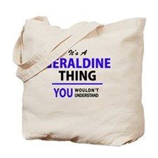 Unique Geraldine Tote Bag
