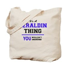 Cute Geraldine Tote Bag