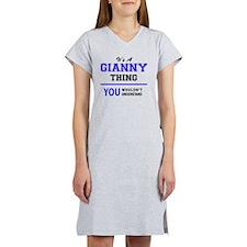 Cute Gianni Women's Nightshirt