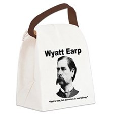 Earp: Accuracy Canvas Lunch Bag