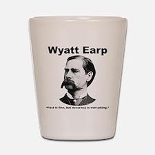 Earp: Accuracy Shot Glass