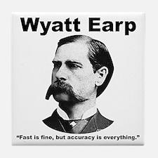 Earp: Accuracy Tile Coaster