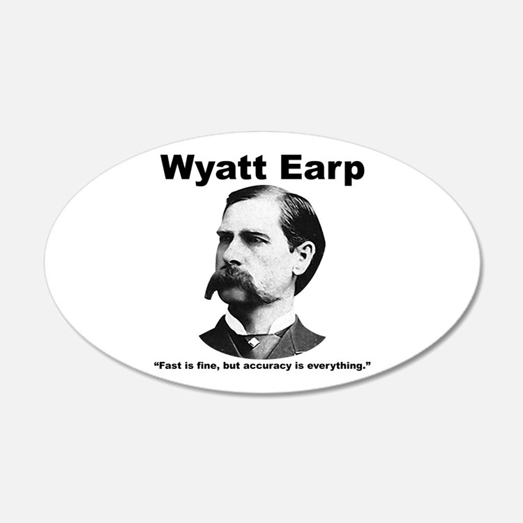 Earp: Accuracy Wall Decal