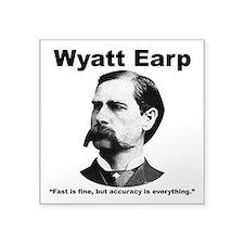 """Earp: Accuracy Square Sticker 3"""" x 3"""""""