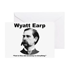 Earp: Accuracy Greeting Card
