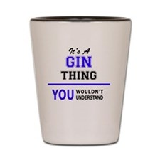 Cool Gin Shot Glass