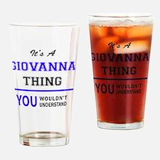 Cute Giovanna Drinking Glass