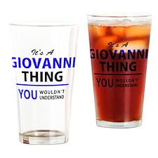 Funny Giovanny Drinking Glass