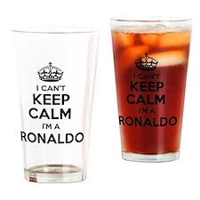 Unique Ronaldo Drinking Glass