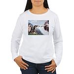 Creation / 2 Dobies Women's Long Sleeve T-Shirt