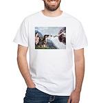Creation / 2 Dobies White T-Shirt