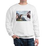Creation / 2 Dobies Sweatshirt