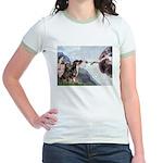 Creation / 2 Dobies Jr. Ringer T-Shirt