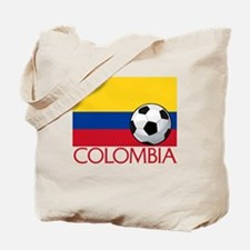 Colombia Soccer / Football Tote Bag