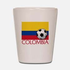 Colombia Soccer / Football Shot Glass