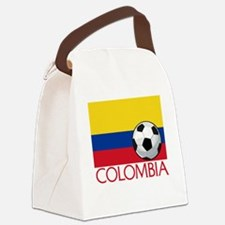 Colombia Soccer / Football Canvas Lunch Bag