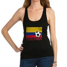 Colombia Soccer / Football Racerback Tank Top